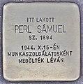 Stolperstein für Samuel Perl (Budapest).jpg