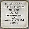 Stolperstein für Sophie Aronow (Differdingen).jpg