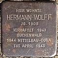 Stolpersteine Köln Hermann Wolff Biberstraße 1.jpg