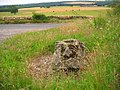 Stone^ at road junction on B1257 at SE591846 - geograph.org.uk - 28910.jpg