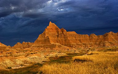 Storm Over The Badlands in South Dakota, USA.jpg