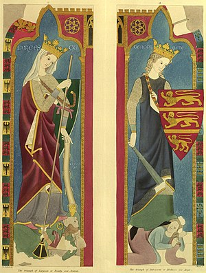 Walter of Durham - Image: Stothard figures painted chamber