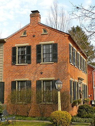 Strasburg, Pennsylvania - Old brick house on East Main Street