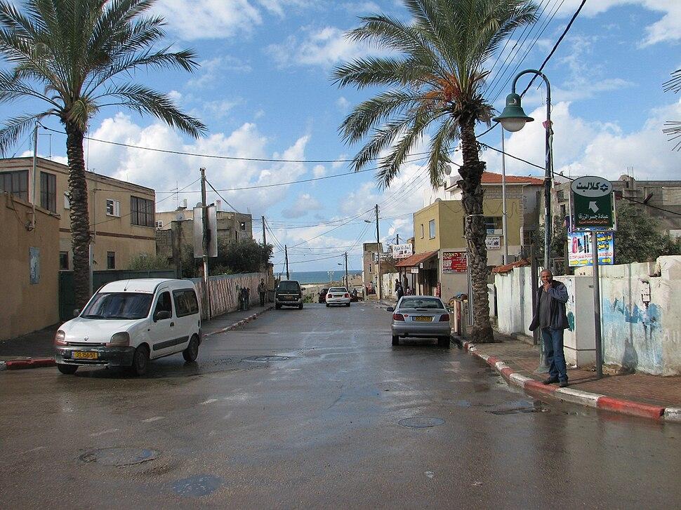 Street in Jisr