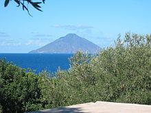 Panorama dell'isola vista da Panarea