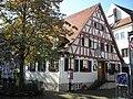 Stuttgart-Obertürkheim Altes Fachwerkhaus.JPG