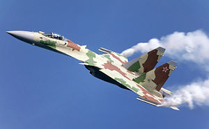 Sukhoi Su-35 - The ninth Su-27M in-flight