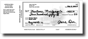 Cheque truncation - Front view