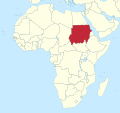 Sudan in Africa (undisputed) (-mini map -rivers).svg
