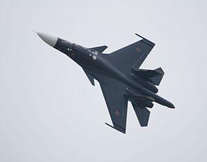Sukhoi Su-34 - Sukhoi Su-34 at the MAKS 2013