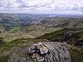 Summit Cairn, Tarn Crag - geograph.org.uk - 445643.jpg
