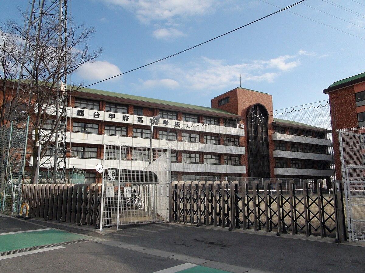 甲府 学校 駿台 高等