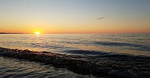 Sunset over Lake Superior, near Marquette, Michigan.jpg
