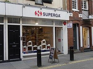 Superga (brand) - Superga store, Neal Street, Covent Garden, London