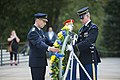 Supreme Commander of Swedish Armed Forces Gen. Micael Bydén Conducts a Public Wreath-Laying at the Tomb of the Unknown Soldier (24058172608).jpg