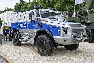 Rheinmetall MAN Military Vehicles - Image: Survivor R