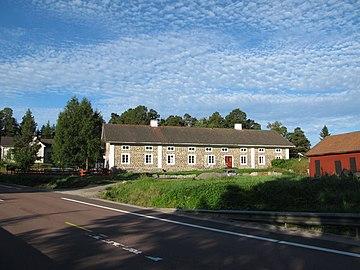 Svabensverk on the border between the provinces Kopparberg and Gävleborg in Sweden..JPG
