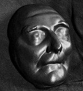 Swift's death mask (Source: Wikimedia)