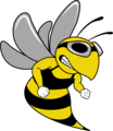 Swim Team Hornet Mascot.png