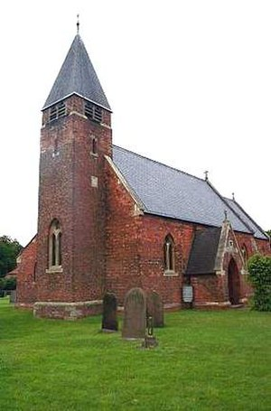 Sykehouse - The Gothic Revival style church of the Holy Trinity