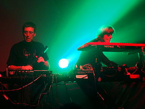 System 7 (band) - System 7 playing the album Phoenix at the London nightclub Heaven, February 2008