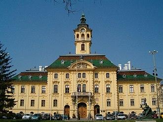 Ödön Lechner - Image: Szeged varoshaza