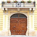Szekesfehervar Episcopal Palace Main Entrance.JPG