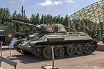 T-34 Model 1941 in the Great Patriotic War Museum 5-jun-2014.jpg