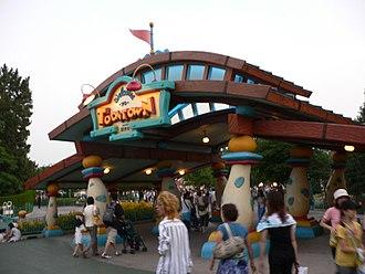Mickey's Toontown - Toontown Entrance at Tokyo Disneyland