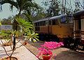 THAI RAILWAYS BANGKOK BOUND KRUPPS BUILT LOCO HAULED TRAIN AT NAM TOK STATION THAILAND JAN 2013 (8511880531).jpg