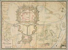 Pl�n Terez�na z roku 1790