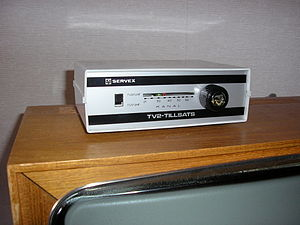 SVT2 - TV2 box used to be able to view the new channel on an old TV set.