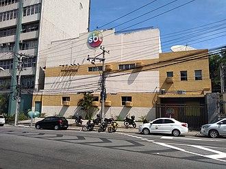 Sistema Brasileiro de Televisão - Headquarters of SBT in Rio de Janeiro.