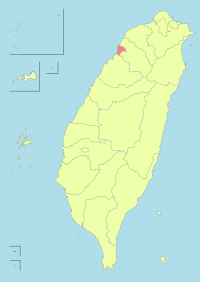 Taiwan ROC political division map Hsinchu City.svg