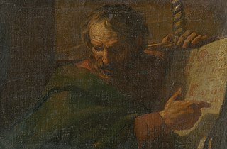 Saint Paul Reads from a Book