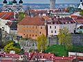 Tallinn Blick von der Olaikirche auf den Domberg 5.JPG
