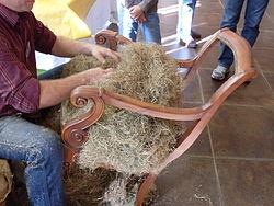 Tapicero wikipedia la enciclopedia libre - Relleno para sillas ...