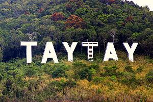 Taytay, Palawan - Image: Taytay Sign