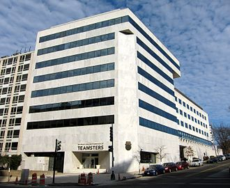 International Brotherhood of Teamsters - Teamsters headquarters located beside Capitol Hill in Washington, D.C.