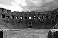 Teatro Romano Vista delle Gradinate in Bianco e Nero.jpg