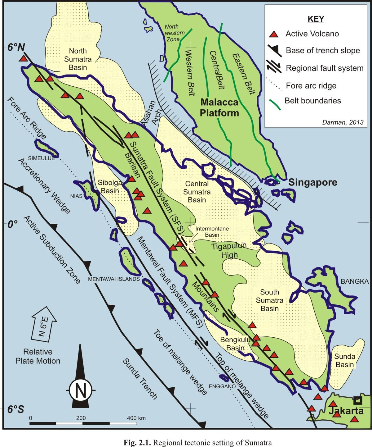 Picture of: File Tectonic Setting Map Of Sumatra Jpg Wikimedia Commons