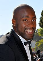 Teddy Riner at the Cannes Film Festival in 2016.