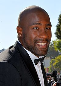 Teddy Riner in Cannes 2016