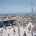 Tel Aviv Drukte op de strandboulevard op sabbat, Bestanddeelnr 255-9374.jpg