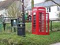 Telephone box, Berwick St John - geograph.org.uk - 1183489.jpg