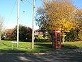 Telephone box at Bere Hill - geograph.org.uk - 602517.jpg