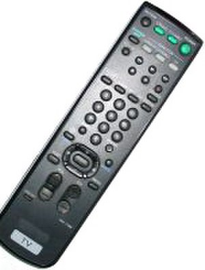 Firmware - A television remote control is an example of an engineered product that contains firmware. The firmware monitors the buttons, controls the LEDs, and processes the button presses in order to send the data in a format the receiving device, in this case, a television set, can understand and process. In fact, the television's mother board has a complex firmware too.