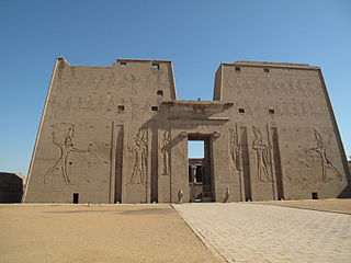 Edfu Place in Aswan Governorate, Egypt