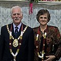 Temple Hindu with Gibraltar's Mayor.jpg
