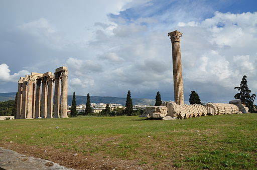 Temple of Olympian Zeus, Athens, Greece (14036009363)